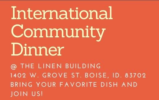 International Community Dinner Boise